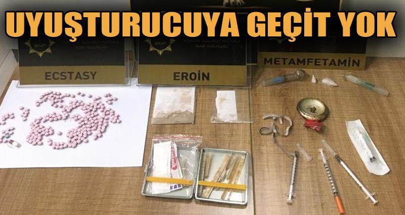 Uyuşturucuyla yakalanan şüpheli adliyeye sevk edildi