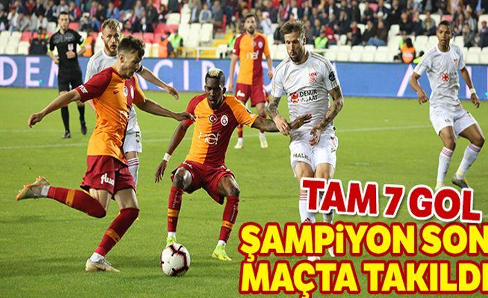 Sivasspor: 4-3 Galatasaray