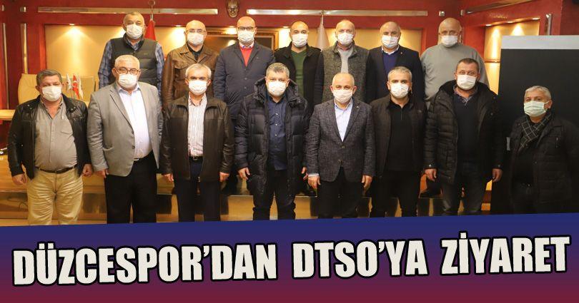 Düzcespor'dan DTSO'ya Ziyaret