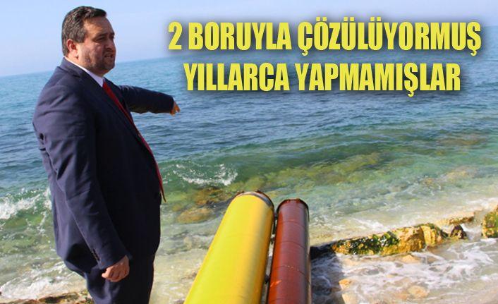 Karadeniz'de pis su akmayacak