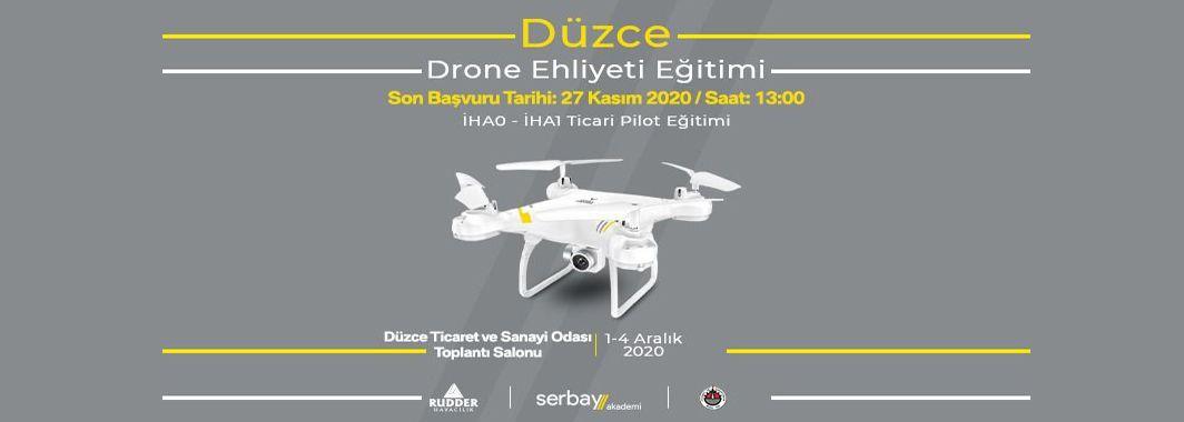 Serbay'dan Drone Ehliyeti Eğitimi