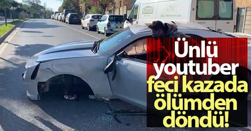Enes Batur kaza geçirdi