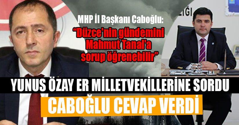 Caboğlu'ndan İYİ Parti'ye Sert Cevap