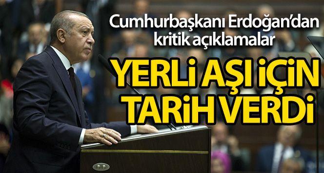 Cumhurbaşkanı Erdoğan Yerli Aşı İçin Tarih Verdi