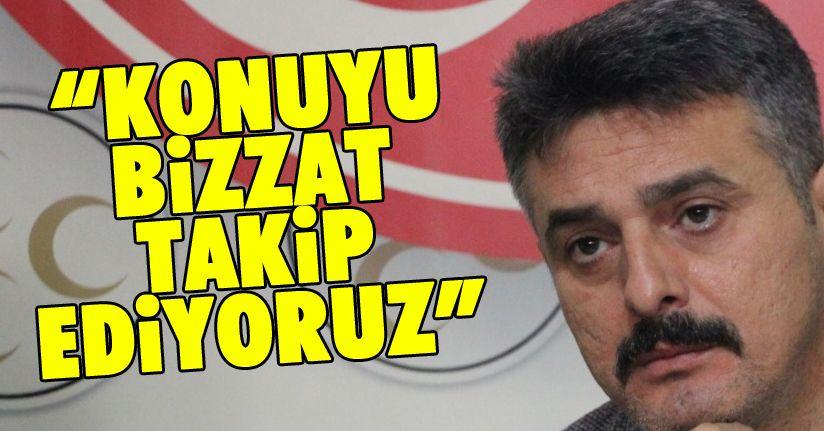 MHP Milletvekili Ümit Yılmaz: Asla müsaade etmeyeceğiz