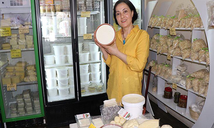 Kadın girişimci mandanın etinden ve sütünden 8 çeşit ürün üretti