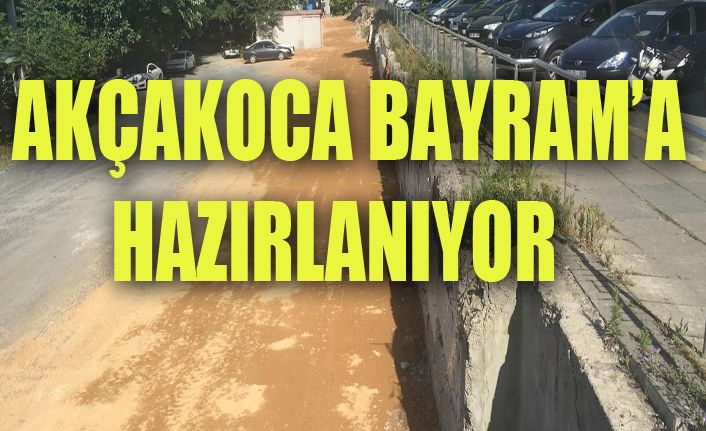 Akçakoca'da bayramda yaşanılacak trafik sorununa çözüm
