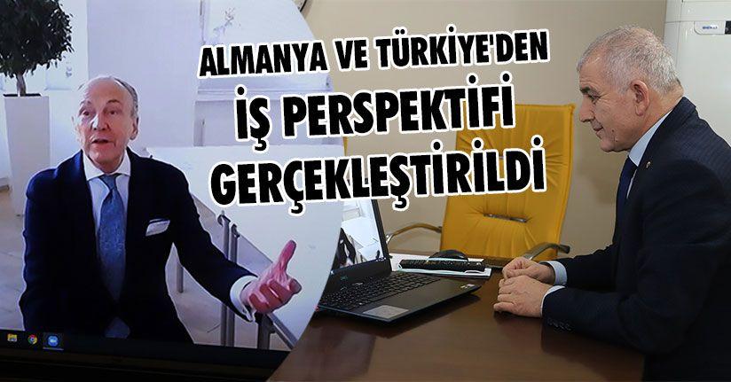 Almanya ve Türkiye'den İş Perspektifi Gerçekleştirildi
