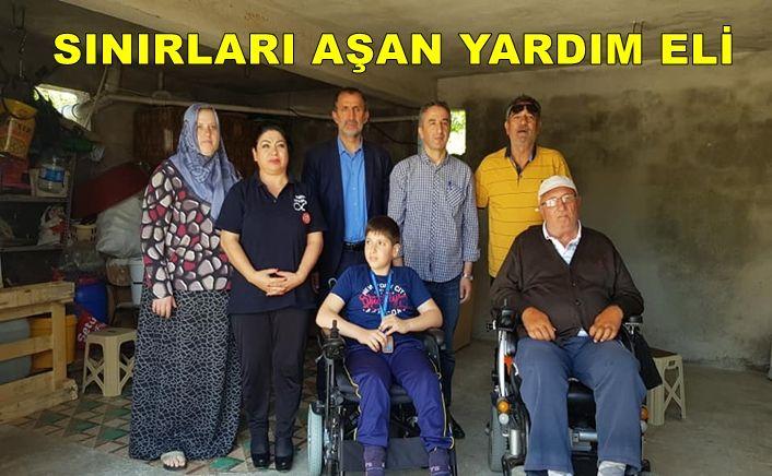 Türk Kadının yardım eli sınır tanımıyor