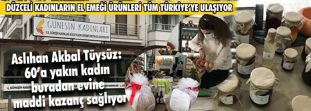 Düzceli Kadınların El Emeği Ürünleri Tüm Türkiye'ye Ulaşıyor