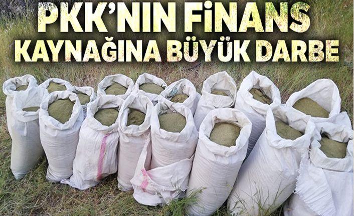 Terör örgütü PKK'nın finans kaynağına büyük darbe