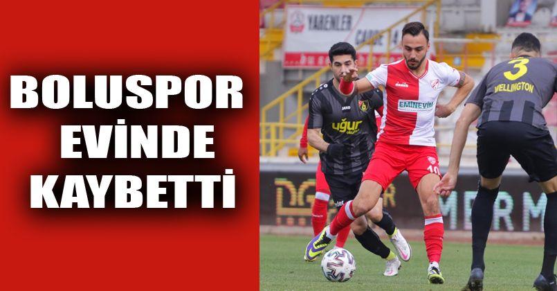 Boluspor: 0 - İstanbulspor: 2