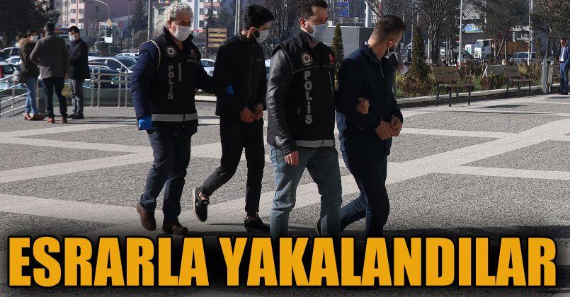 Bolu'da uyuşturucu ile yakalanan 2 kişi gözaltına alındı