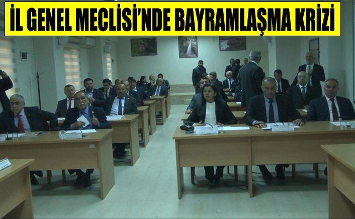 MHP İL Genel Meclis Üyelerinden sert tepki
