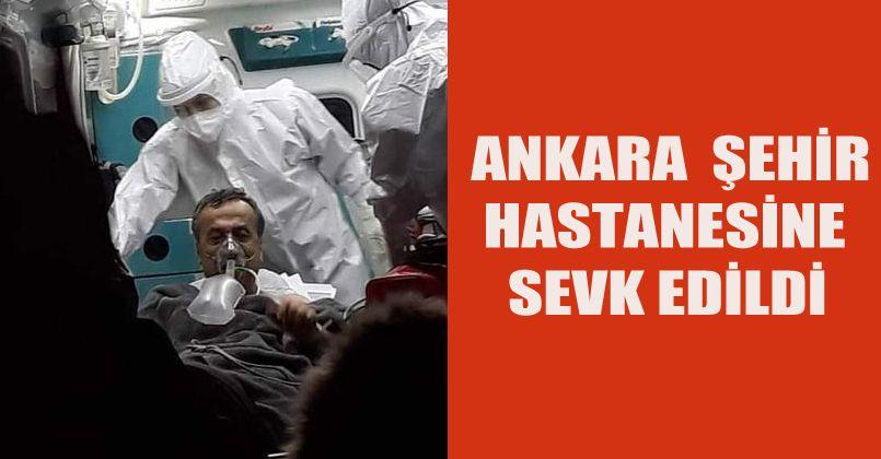Rasim Çam Ankara'ya Sevk Edildi