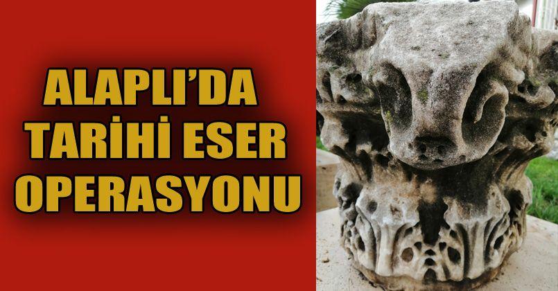 Alaplı'da Roma Dönemi eserleri ele geçirildi