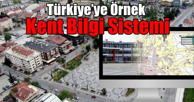 Türkiye'ye Örnek Kent Bilgi Sistemi