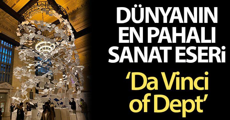 Dünyanın en pahalı sanat eseri 'Da Vinci of Dept'
