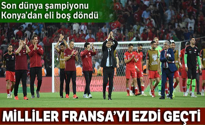 Türkiye Fransa maçı Özet izle