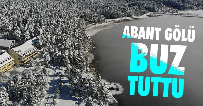 Türkiye'nin En Soğuk İli Bolu'da Göller Dondu