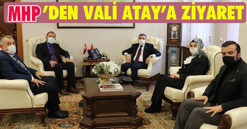 MHP'den Vali Atay'a Ziyaret