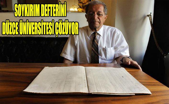 Yunanlıların zararını Düzce Üniversitesi Bölüm Başkanı anlattı