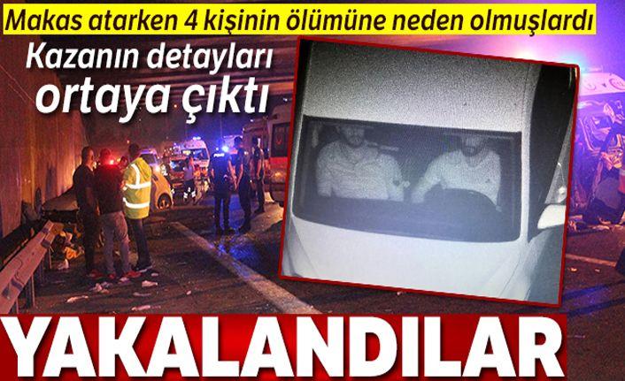 Beşiktaş'ta makas terörüyle gelen kazada 8 gözaltı