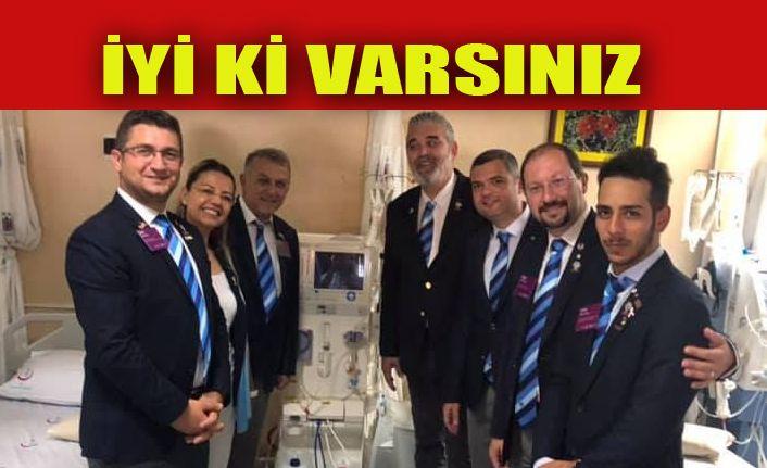 Akçakoca Rotary Kulübünden Diyaliz Makinesi Bağışı