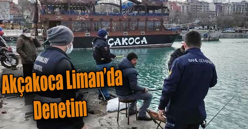 Amatör balıkçılar denetlendi