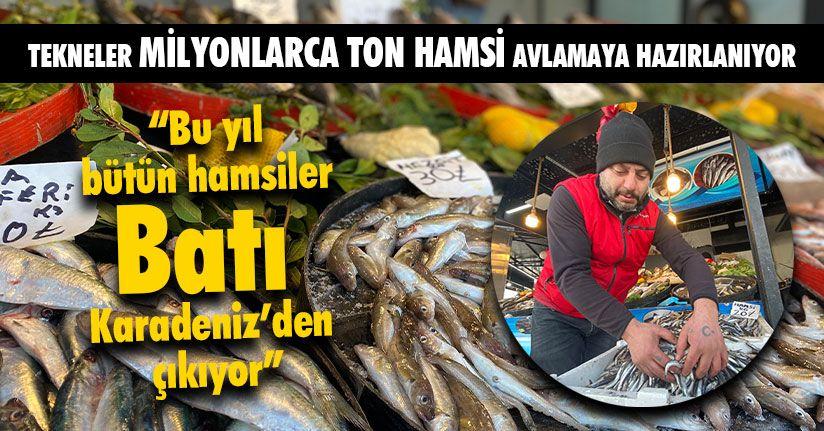 Balıkçılar Hamsi Yasağının Kalkmasını Bekliyor