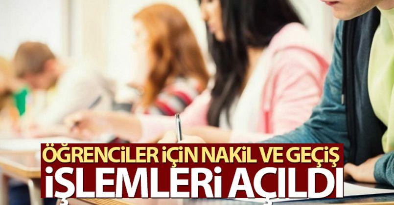 MEB'e bağlı resmi/özel eğitim kurumlarında nakil ve geçiş işlemleri açıldı