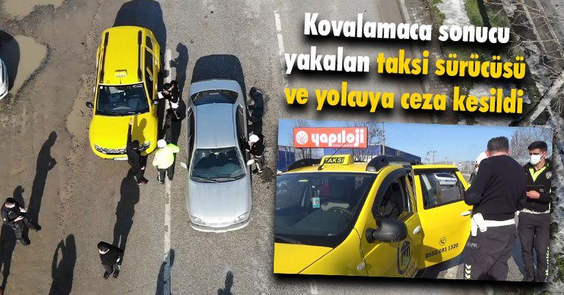 Polisten Kaçan Taksi Sürücüsü Cezadan Kaçamadı