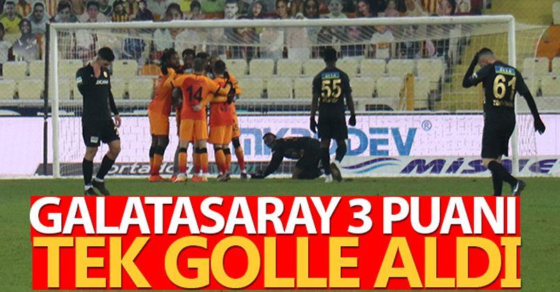 Galatasaray, Yeni Malatyaspor'u deplasmanda tek golle geçti