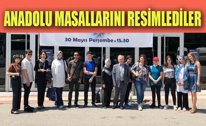 Düzce Güzel Sanatlar Lisesi Ankara'da