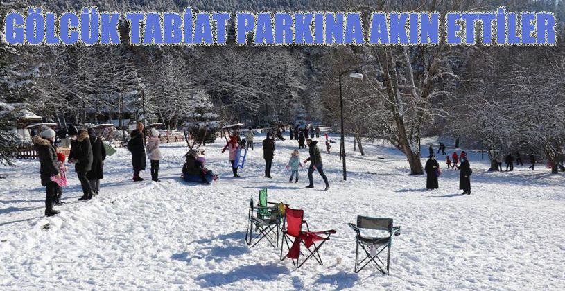 Bolu'da kısıtlamaya saatler kala Gölcük Tabiat Parkı tatilci akınına uğradı