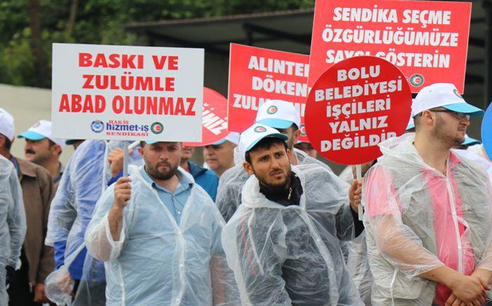 Hak-İş'in Emek ve Adalet Yürüyüşü 2'inci günde devam ediyor