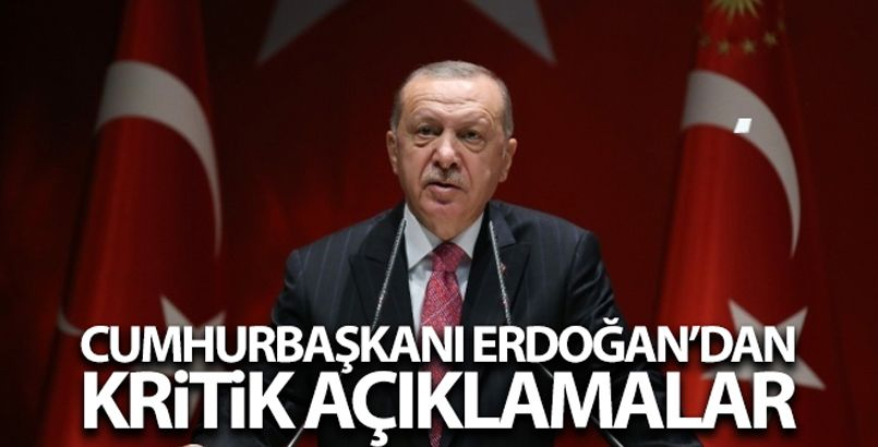 Cumhurbaşkanı Erdoğan: 'Parti içi kavgalardan AK Parti'yi mesul tutmak yüzsüzlüktür, siyasi arsızlıktır'