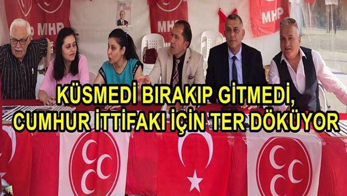 Dava adamı çıktı, İstanbul'da Binali Yıldırım için ter döküyor