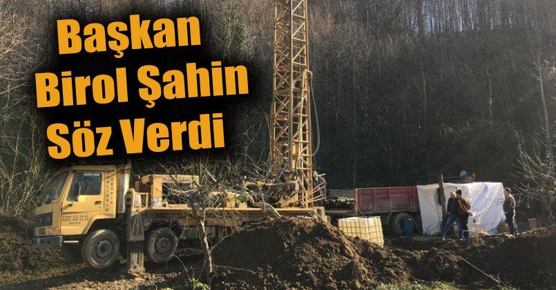 Eskiköy Mahallesinde 'ki su sorunu çözülecek