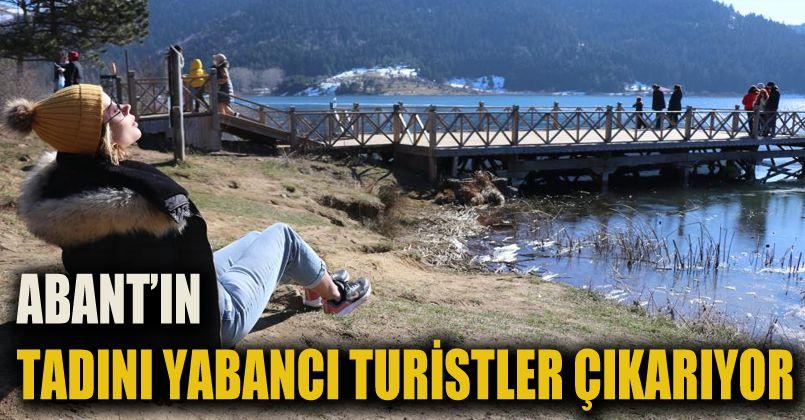 Abant Tabiat Parkı'nda yazdan kalma günler yaşanıyor