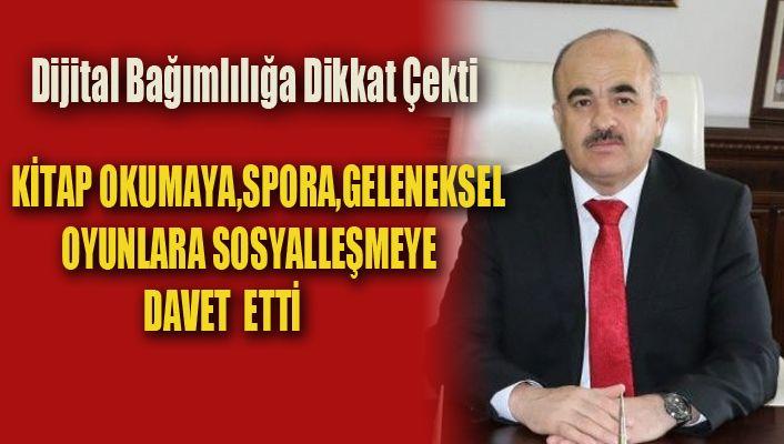 Vali Zülkif Dağlı'dan Karne Mesajı