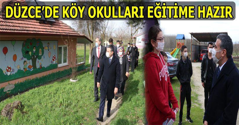 Köy Okullarında 15 Şubat Heyecanı