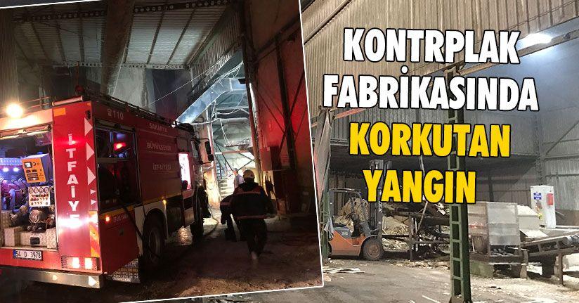 Kazan Dairesinde Çıkan Yangın Panik Yarattı