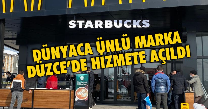 Starbucks Seven Cadde'de açıldı