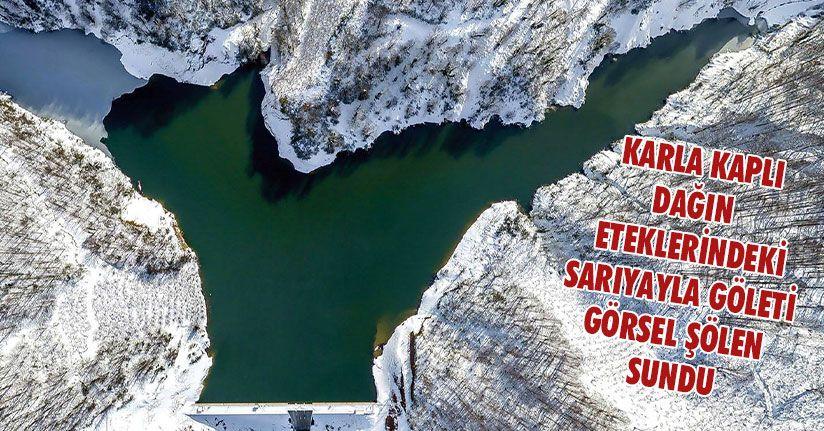 Sarıyayla Göleti'nin Eşsiz Manzarası Havadan Görüntülendi