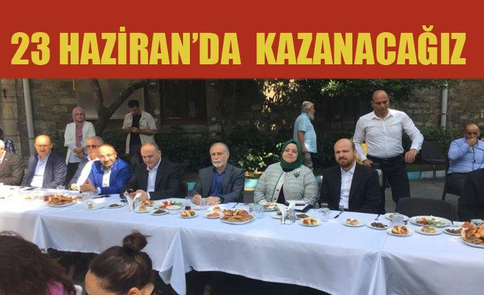 Faruk Özlü İstanbul Temaslarına Devam ediyor
