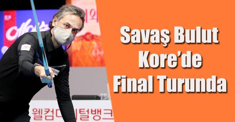 Milli bilardocu Kore'de final turunda