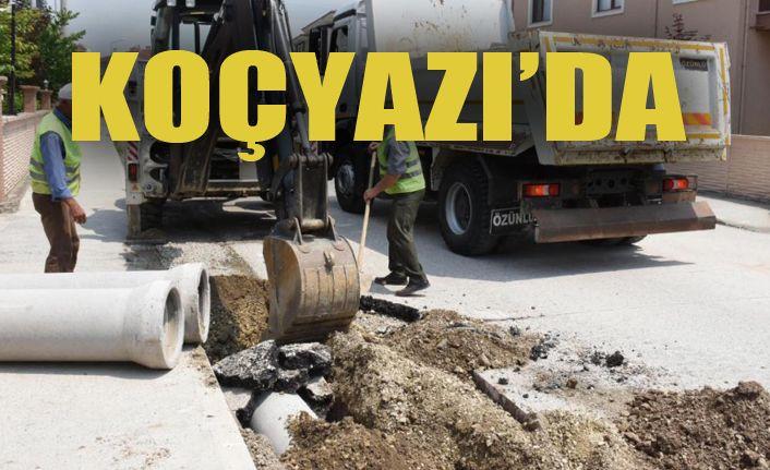 Koçyazı'da Altyapı Çalışmaları Başladı