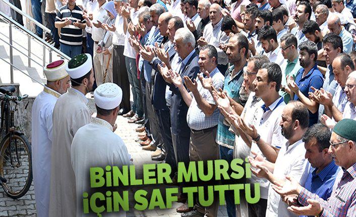Yurt genelinde Mursi için gıyabi cenaze namazı kılındı