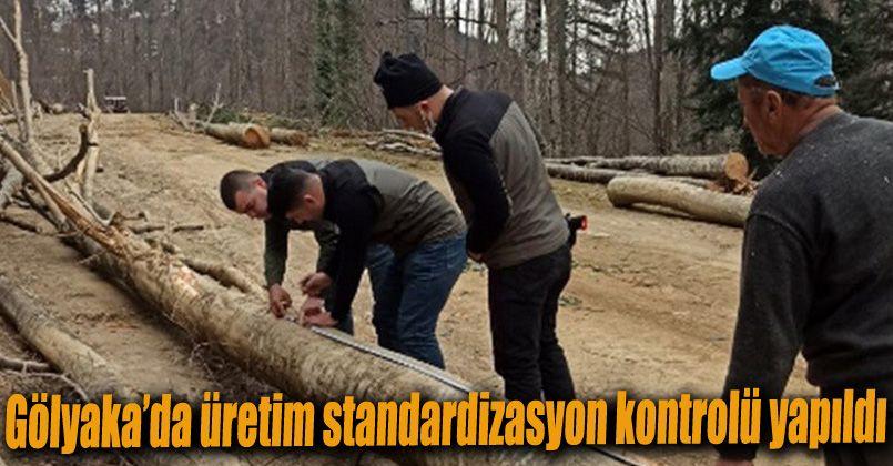 Gölyaka'da üretim standardizasyon kontrolü yapıldı